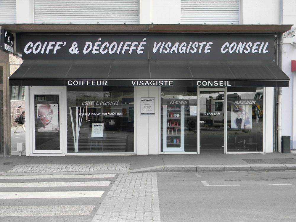 Coiff 39 d coiff vous souhaite la bienvenue sur son site for Devanture salon de coiffure